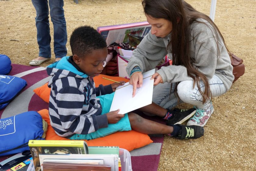 Lire en short - Ploufragan - Juillet 2015