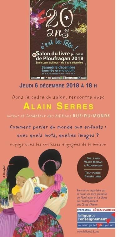 aa96a3a84eb Le 6 décembre   Une conférence organisée en partenariat avec la Ligue de l enseignement  des Côtes d Armor   Comment parler du monde aux enfants